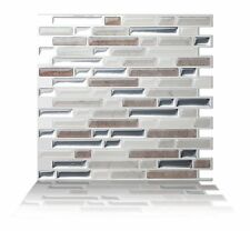 Tic Tac Tiles® - Premium 3D Peel & Stick Wall Tile in Como Pebble (5 sheets)