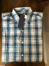 1 NWT OXFORD GOLF MEN'S LONG SLEEVE BUTTON DOWN SHIRT, SIZE: LARGE - PLAID3