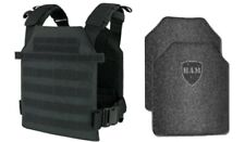 Level IIIA 3A | Body Armor Inserts | Bullet Proof Vest Plate Carrier - 10x12 6x6