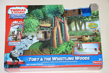 Thomas The Tank Engine Trackmaster Toby & The Whistling Woods New in Box HTF