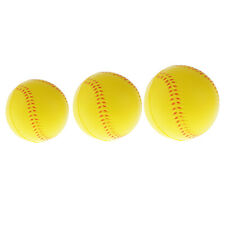 PU Foam Training Ball for Softball and Baseball Practice - Available 3 Sizes,