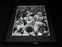 Bart Starr 1962 NFL Championship Packers Framed 11x14 Photo Display
