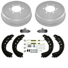 Rear Drums Shoes Spring Kit Wheel Cylinders for Toyota Tundra 03-06