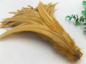 Wholesale! 10/50/100 pcs beautiful rooster tail feathers 12-14inches/30-35cm DIY