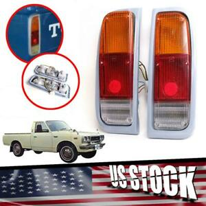 Fit Toyota Hilux Rn20 Rn25 12R 1974-1978 Pickup Truck Tail Lamp Light Pair