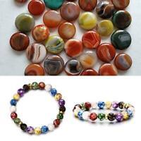 7 Chakra Heilung Perlen Armband natürlichen Lavastein Schmuck- Armband Diff Z3J3