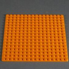 LEGO® Bauplatte flach Grundplatte 16x16 Noppen Platte 6098 orange City