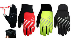 DHERA Cycling Gloves Windproof Padded Touchscreen Full Finger Biking Gloves