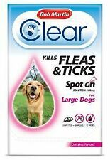 BM Clear Flea Clear Spot On for Large Dogs (3 Pipettes) - 25036