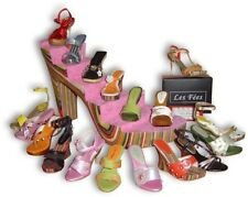 COMPLETE SET Les Fées Miniature Shoes- Natural Materials Handcrafted Just Right!