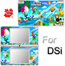 Super Mario NEW CUTE SKIN DECAL VINYL STICKER COVER for Nintendo DSi