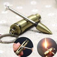 Portable Camping Hiking Survival Fire Starter Flint Match Lighter Emergency Gear