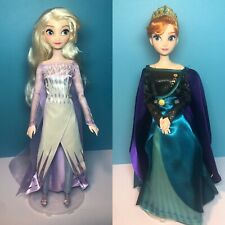 Disney Store Exclusive Classic Dolls Elsa and Queen Anna Doll Set
