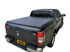 Tough Soft Tonneau Cover for Mitsubishi Triton MR 2019-20 Dual Cab Foldable