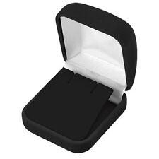 Wholesale Lot of 48 Black Velvet Earring Jewelry Display Packaging Gift Boxes