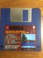 CU Amiga Magazine Cover Disk 19 lotus III  TESTED WORKING