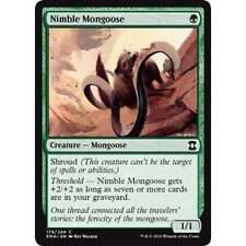 4x MTG Nimble Mongoose NM - Eternal Masters