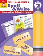 Skill Sharpeners Spell and Write Grade 2 by Evan-Moor Educational Publishers