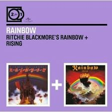 RAINBOW - 2 FOR 1: RITCHIE BLACKMORE'S RAINBOW/RISING 2 CD NEU