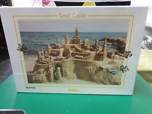 Jogsaw Puzzle - Sand Castle - 1000 Pieces. Brand New And Sealed. Aussie Seller