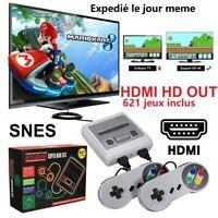 Mini Console Classic Jeux 621 en 1 Nintendo NES Retro HDMI Output CADEAU NOEL