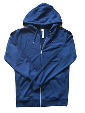 Diesel Loungwear Blue Hooded Sweatshirt Full Zip Up Size M