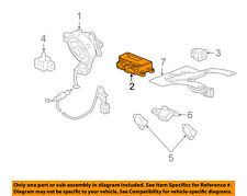 GM OEM Supplemental Restraint System-Control Module 13512417