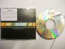 NO DOUBT New – 1999 UK CD PROMO – Pop Rock - BARGAIN!