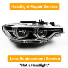 Right Headlight Lens Replacement Repair Service 2016-2018 Bmw F30 3-series 17 18