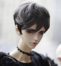 Bjd Doll Wig 1/3 8-9 Dal Pullip AOD DZ AE SD DOD LUTS Dollfie grey mix black