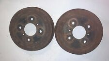 "Original 9"" STANPART Brake Drums 210578.  Triumph TR3B - TR6  —MV"