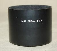 GENUINE MINOLTA LENS HOOD FOR MC 135mm 3.5 LENS 8570