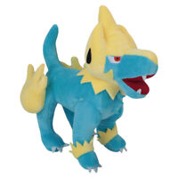 Pokemon Center Manectric Plush Doll Figure Stuffed Animal Soft Toys 10 inch Gift