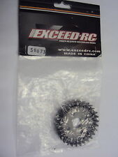 NEW EXCEED-RC DIFF CROWN GEAR 30T, WILD BULL, HANNIBAL VEHICLES #50073