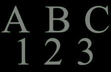 "Custom 6"" Letters Numbers steel metal home address decor sign"