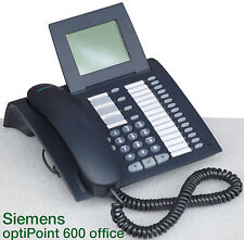 SIEMENS OPTIPOINT 600 OFFICE S30817-S7504-A107-18 PHONE SYSTEM TELEPHONE