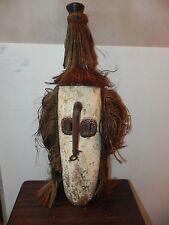 "Arts of Africa -  Authentic BoBo Mask - Burkina Faso - Mali - 28"" Hight X10""Wide"