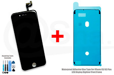 iPhone 6S (4.7) BLACK LCD Display Touch Screen Digitizer Replacement + Adhesive