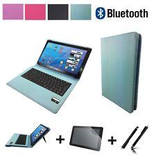 "3in1 Set Bluetooth Tastatur Tablet Hülle für Asus Google Nexus 7 7"" Türkis"