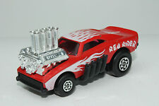 MATCHBOX SUPERFAST #48 RED RIDER DRAGSTER, RED WINDOWS, NICE, ORIGINAL