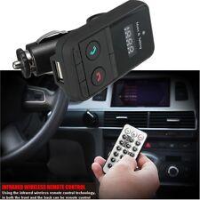 Car Wireless Bluetooth Handsfree Mp3 Fm Transmitter Usb Sd Remote Control