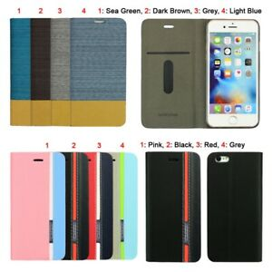 Thin Smart Flip Cover Case For Apple iPhone 6S or iPhone 6S Plus Folding Stand
