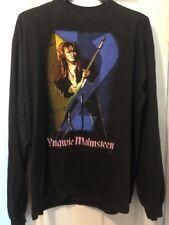 Original Yngwie J. Malmsteen Seventh Sign Vintage Long Sleeve T-Shirt 1994 Large