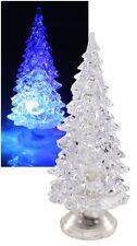 LED Weihnachts-Dekolicht Weihnachtsbaum mit Farbwechsel Batteriebetrieb 5x10cm