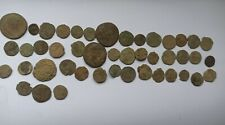 LOT OF 45 UNCLEANED ANCIENT ROMAN IMPERIAL BRONZE COINS III-V Century AD