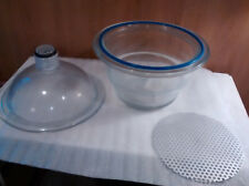 New Surplus Wheaton 250mm Dry Seal Vacuum Desiccator 230mm Plate 365886