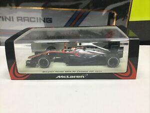 1/43 Spark Models McLaren MP4/30 2015 Jenson Button