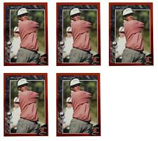 (5) 1992 Legends #33 Fred Couples Golf Card Lot