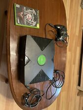 New listing Microsoft Original Xbox Console All Cables, 1 Controller 1 Game Tested/Work Read