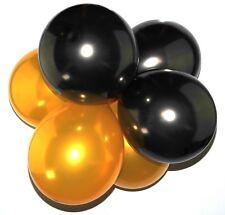 paquet of63.5cm 30.5cm latex perle noir or ballons mariage fête hélium air